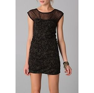 💜Free People Starlight Party Jersey Dress Small